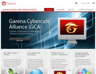 gca.garena.com screenshot