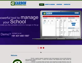 gcarbon.info screenshot