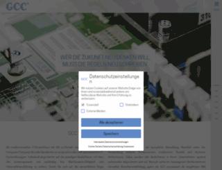 gcc.de screenshot