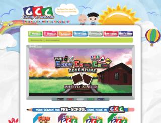 gcc.edu.my screenshot