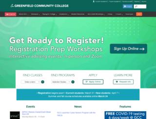 gcc.mass.edu screenshot