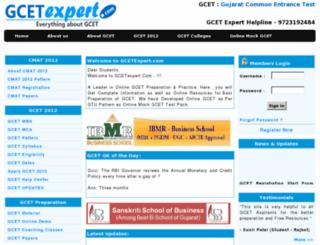 gcetexpert.com screenshot