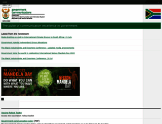 gcis.gov.za screenshot