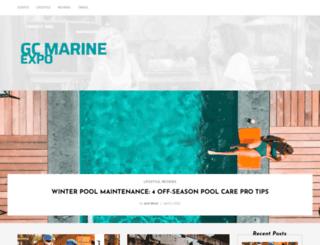 gcmarineexpo.com.au screenshot