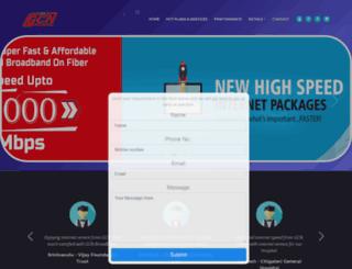 gcnbroadband.com screenshot