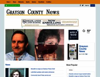gcnewsgazette.com screenshot
