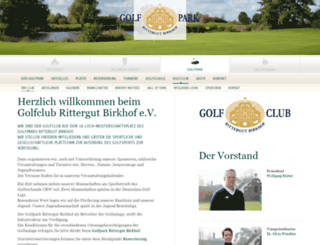 gcrb.de screenshot