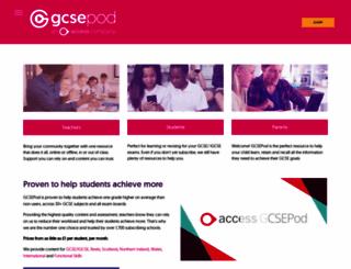 gcsepod.com screenshot