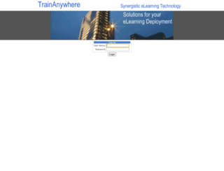gcutilities.trainanywhere.com screenshot