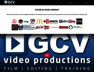 gcv.co.za screenshot
