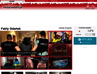 gdansk.twoje-miasto.pl screenshot