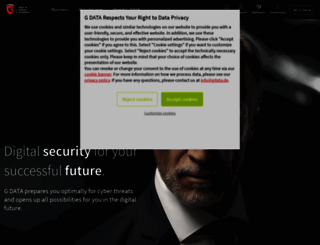 gdatasoftware.com screenshot