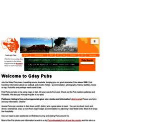gdaypubs.com.au screenshot