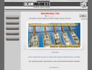 gdb.scamwarners.com screenshot