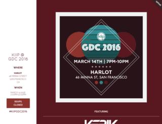 gdc2016.splashthat.com screenshot