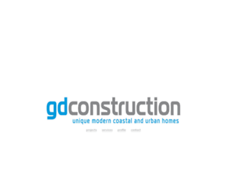 gdconstruction.com.au screenshot