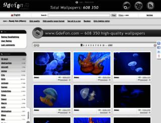 gde-fon.com screenshot