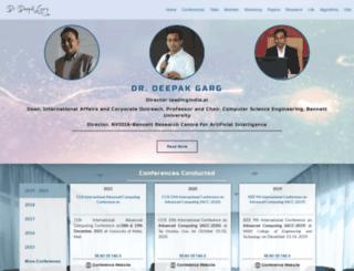 gdeepak.com screenshot