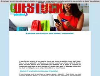 gdestock.fr screenshot