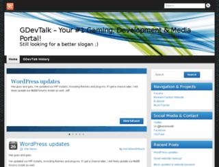 gdevtalk.net screenshot