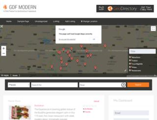gdfmodern.wpgeothemes.com screenshot