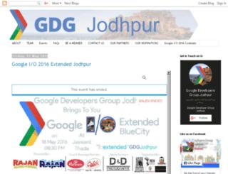 gdgjodhpur.org screenshot