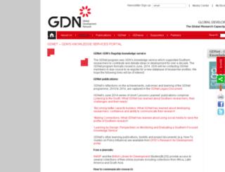 gdnet.org screenshot
