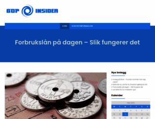 gdpinsider.com screenshot