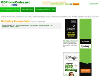 gdpromocodes.net screenshot