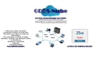 gdpsnube.com screenshot