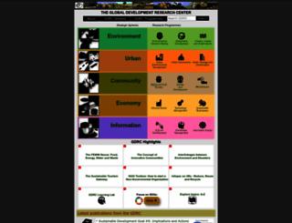 gdrc.org screenshot