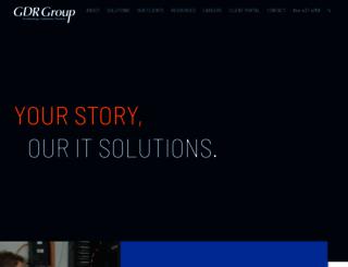 gdrgroup.com screenshot