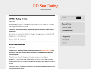 gdstarrating.com screenshot
