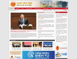 gdt.gov.vn screenshot
