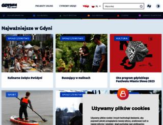 gdynia.pl screenshot