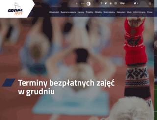 gdyniasport.pl screenshot