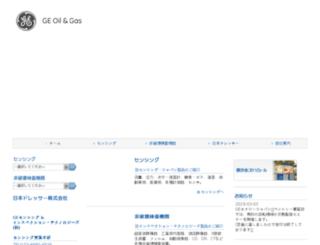 ge-mcs.jp screenshot