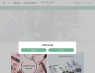 ge.oriflame.com screenshot