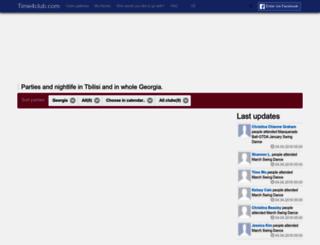 ge.time4club.com screenshot