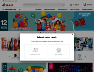 geant.com.uy screenshot