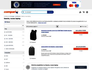 geanta-laptop.compari.ro screenshot