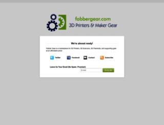 gear4fabbers.com screenshot