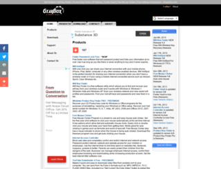gearboxcomputers.com screenshot