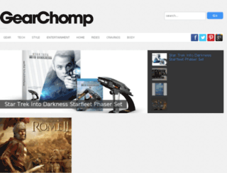 gearchomp.com screenshot