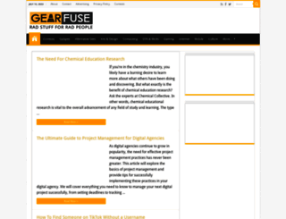 gearfuse.com screenshot