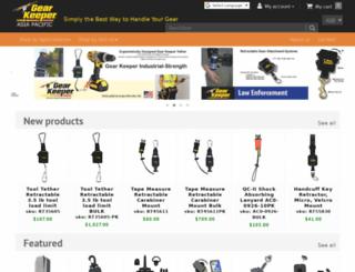 gearkeeper.com.au screenshot