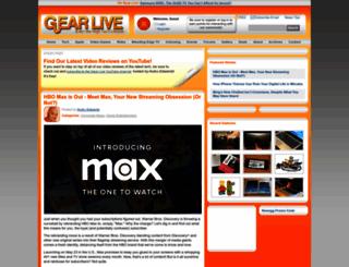 gearlive.com screenshot