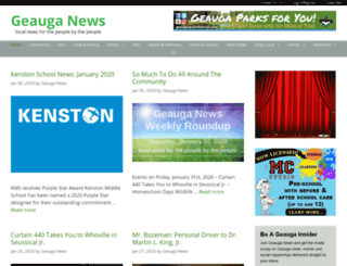 geauganews.com screenshot