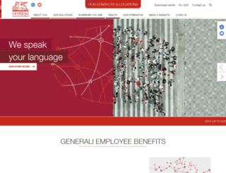 geb.generali.com screenshot