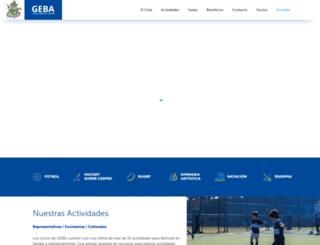 geba.org.ar screenshot